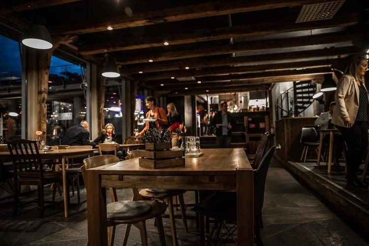 Restauranten Biologen Akvariet på Akvariet i Bergen