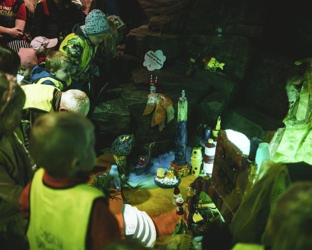 Plastbyen utstillingen på Akvariet i Bergen