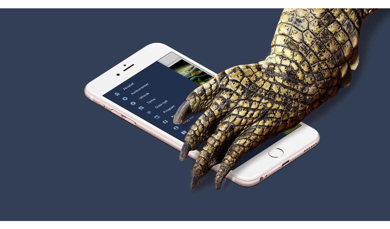 Prøv Akvariet-appen