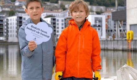 Beskytt havet med Plastbyen
