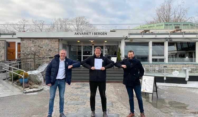 Akvariet i Bergen og Atea inngår bærekraftig samarbeid