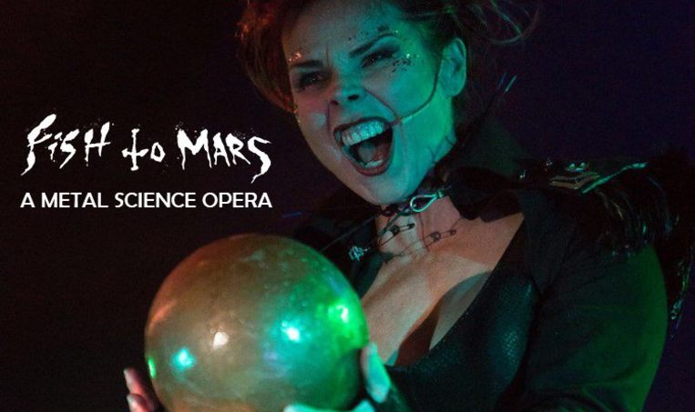 Fish to Mars - a Metal Science Opera